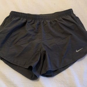 Grey Nike Running Shorts